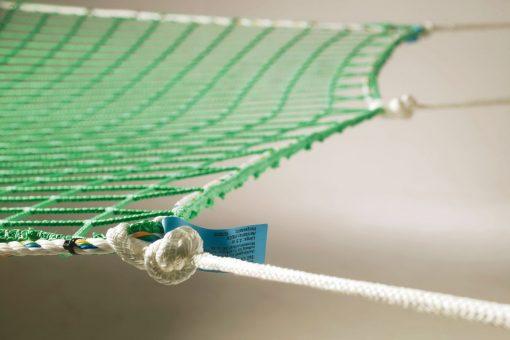 Auffangnetz mit Randseil und Aufhängeseil