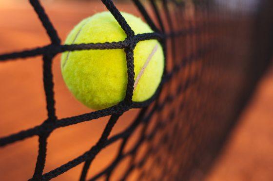 Ballfangnetz für Tenniscourt