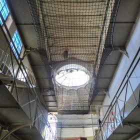 Schutznetz zur Gebäudesicherung