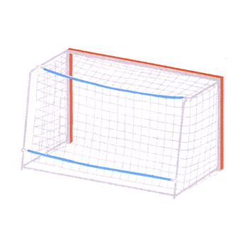 Spannleinen für Handballtornetze