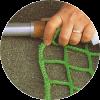 Ersatznetze für Netzschutzwände