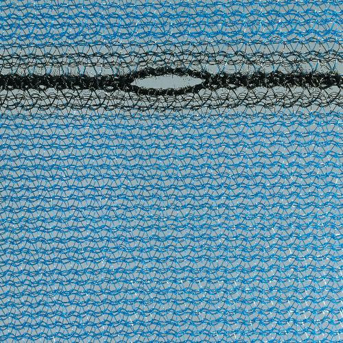 Gerüstnetz ca. 75g/qm mit doppelt eingewebtem Polyestergarn blau