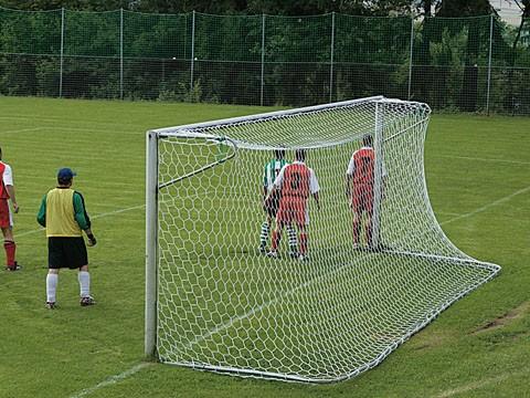 Jugend-Fußballtornetze fussballtornetze wabenfoermig hexagonale maschen