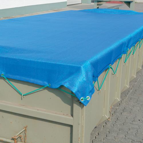 Schwere Kunststoffplanen für Container
