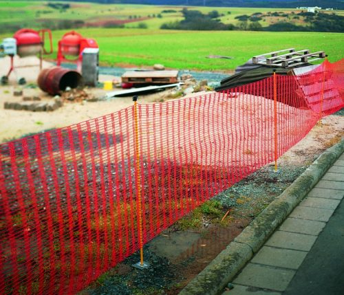 Baustellenzäune und Sicherheitszäune