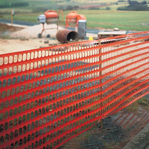 Baustellen-Sicherheitszaun